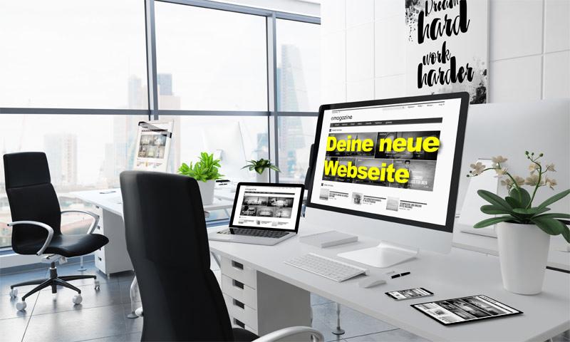 PortWeb Südkirchen Webdesign Internetprogrammierung - Webseiten